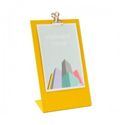Block Clipboard Frame - Yellow - 3 Sizes Available