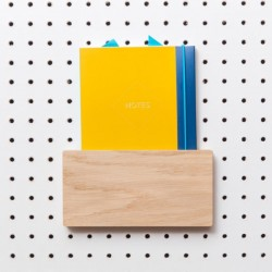 Block PegBoard Accessories - Letter Holder - wooden letter rack
