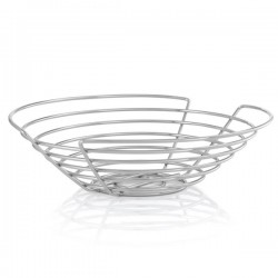 Blomus Wires Fruit Bowl - steel wire round fruit basket