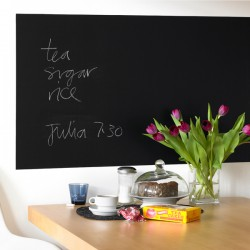 Rectangular Blackboard Wall Sticker - Red Candy