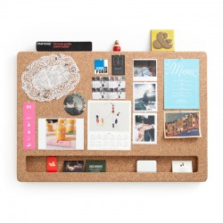 CorkFrame - Landscape - wall message board - cork memo board