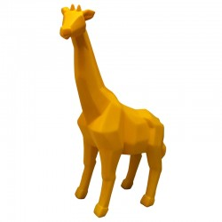 Giraffe Lamp - quirky yellow animal light - Disaster Designs