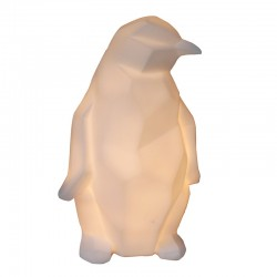 Origami Penguin Lamp - Red Candy