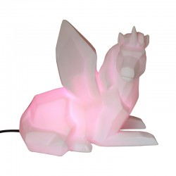 Unicorn Mood Lamp - colour changing light - Disaster Designs