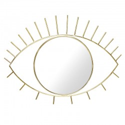 Cyclops Large Mirror (Gold) - Red Candy