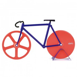 Fixie Pizza Cutter - Palm Springs - bike pizza slicer - DOIY