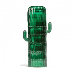 Saguaro Cactus Glasses - cactus shaped stackable glass set - DOIY