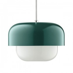 Haipot Pendant Light – dark green retro designer pendant lamp