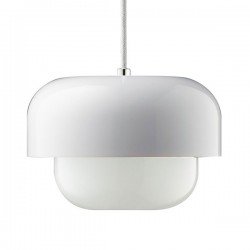 Haipot Pendant Light – white retro designer pendant lamp