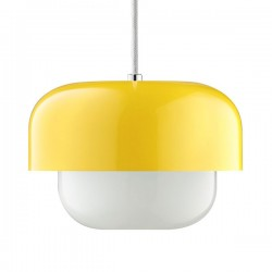 Haipot Pendant Light – yellow retro designer pendant lamp
