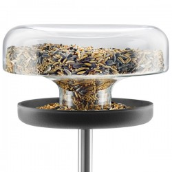 Evo Solo Bird Table - 1L - modern bird feeder