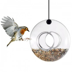 Eva Solo Hanging Bird Feeder - Red Candy