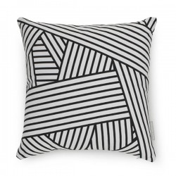 Evermade Stripe Cushion - Red Candy