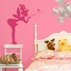 Magic Fairy Wall Sticker - large children's wall decal