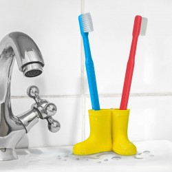 Rain and Shine Toothbrush Holder - Wellington Boot Pot - Fred