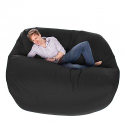 Giant Bean Bag (Black) - Red Candy