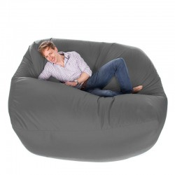 Giant Bean Bag – oversized grey designer bean bag