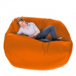 Giant Bean Bag - massive orange designer bean bag
