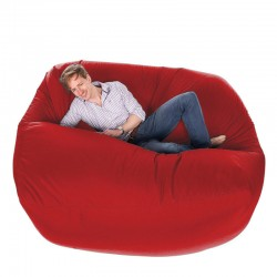 Giant Bean Bag - oversized red outdoor bean bag