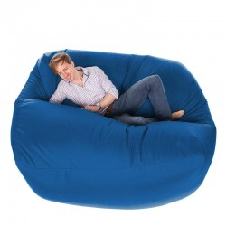 Giant Bean Bag – gigantic royal blue designer bean bag