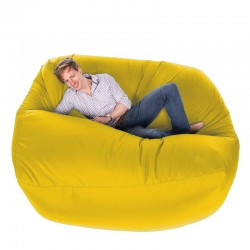 Giant Bean Bag - massive yellow designer bean bag