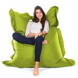 Oxford Bean Bag – lime green designer outdoor bean bag
