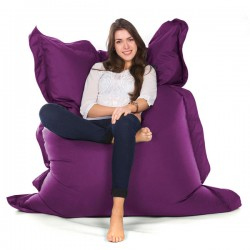 Oxford Bean Bag – purple designer outdoor bean bag