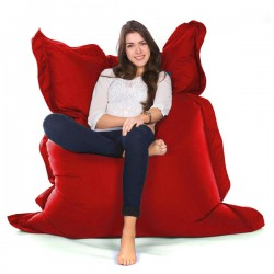 Oxford Bean Bag - red indoor/outdoor designer bean bag