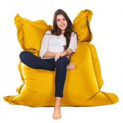 Oxford Bean Bag (Yellow 3 Sizes) - Red Candy