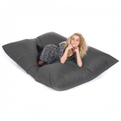 Slab Bean Bag – large designer grey bean bag