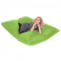 Slab Bean Bag – designer lime green bean bag