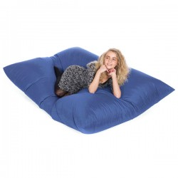 Slab Bean Bag – modern blue bean bag