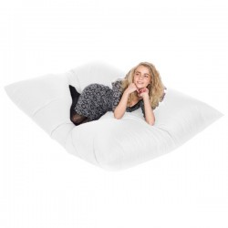 Slab Bean Bag – large white designer bean bag