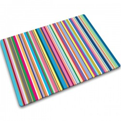 Joseph Joseph Thin Stripes Worktop Saver - Red Candy