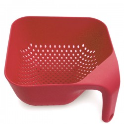 Joseph Joseph Square Colander - Red Candy