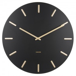 Karlsson Charm Wall Clock (Black) - Red Candy