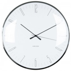 Karlsson Dragonfly Wall Clock - White - minimalist wall clock
