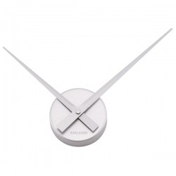 Little Big Time Clock Mini (Silver) - Red Candy