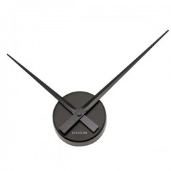 Karlsson Little Big Time Clock Mini - Black hands clock