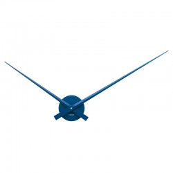 Karlsson Little Big Time Clock - Blue - hands only wall clock