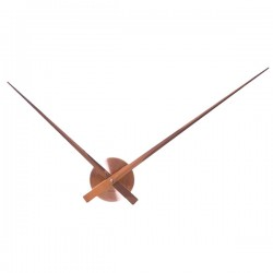 Karlsson Little Big Time - designer copper wall clock