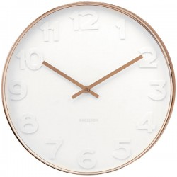 Mr White Numbers Copper Clock (Large) - Red Candy