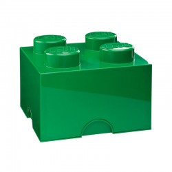 Lego Storage Brick (Green, 2 Sizes Available) - Red Candy