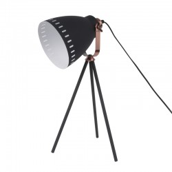Mingle Table Lamp - Black - Leitmotiv 3 legged desk light