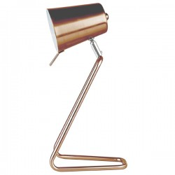 Leitmotiv Z Table Lamp (Copper) - Red Candy