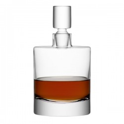 LSA Boris Decanter - designer glass whiskey carafe