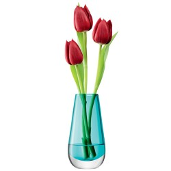 LSA Flower Colour Bud Vase (Peacock) - Red Candy