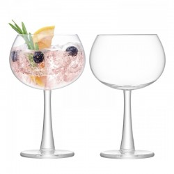 LSA Gin Balloon Glasses - Set of 2 - designer gin & tonic glasses