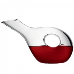 LSA Ono Duck Carafe - modern glass wine decanter