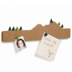 Memo Mountain - designer cork noticeboard - Luckies